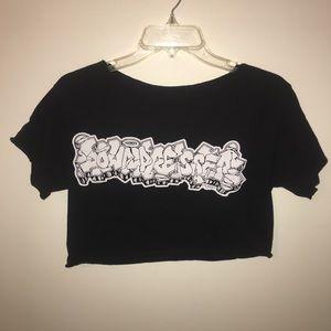 Downpresser life & death tour shirt